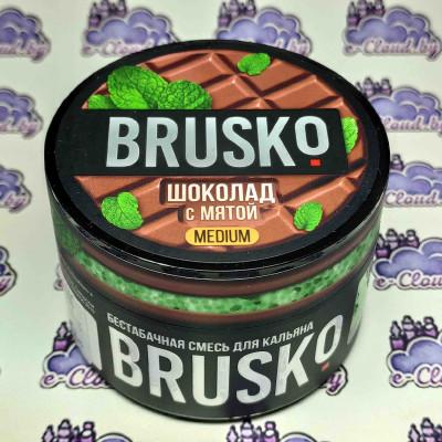 Смесь для кальяна Brusko - Шоколад с мятой - 50гр. купить