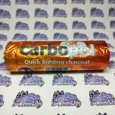 Уголь древесный для кальяна Carbopol - 100гр. купить