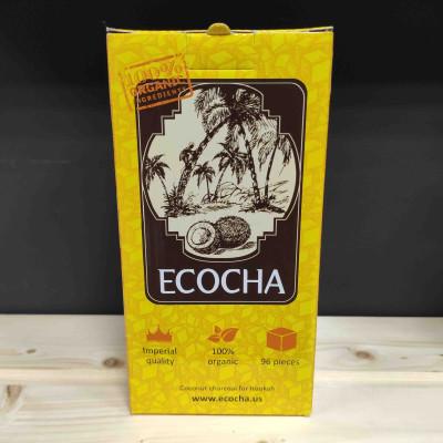Уголь кокосовый для кальяна Ecocha - 1000гр. купить