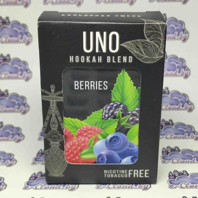 Смесь для кальяна Uno - Лесные ягоды  - 50гр. купить