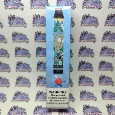 Одноразовая электронная сигарета Rick and Morty 1700 - Холодный персик - 60мг/мл. купить
