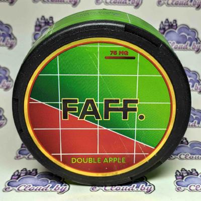 Купить жевательную смесь (снюс) Faff - Яблоко - 75мг/г. с доставкой в Минске и почтой по Беларуси.