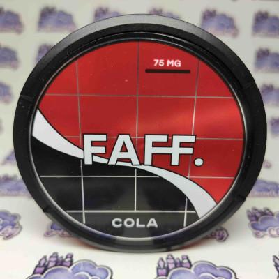 Купить жевательную смесь (снюс) Faff - Кола - 75мг/г. с доставкой в Минске и почтой по Беларуси.