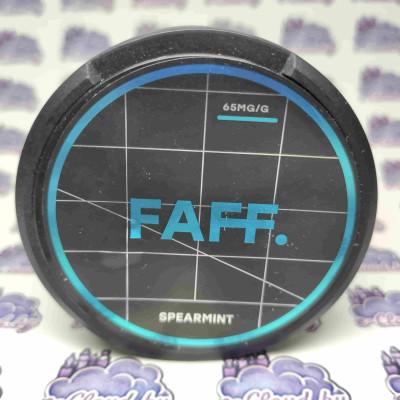 Купить жевательную смесь (снюс) Faff - Мята - 65мг/г. с доставкой в Минске и почтой по Беларуси.