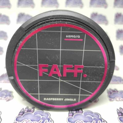 Купить жевательную смесь (снюс) Faff - Малина - 65мг/г. с доставкой в Минске и почтой по Беларуси.