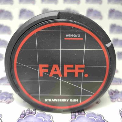 Купить жевательную смесь (снюс) Faff - Клубника - 65мг/г. с доставкой в Минске и почтой по Беларуси.