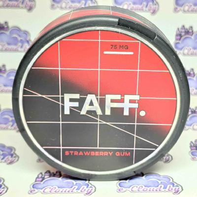 Купить жевательную смесь (снюс) Faff - Клубника - 75мг/г. с доставкой в Минске и почтой по Беларуси.
