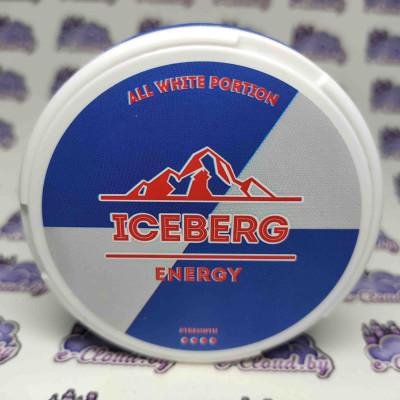 Жевательная смесь (снюс) Iceberg - Энергетик - 75мг/г. купить