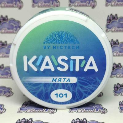 Купить жевательную смесь (снюс) Kasta - Мята - 101мг/г. с доставкой в Минске и почтой по Беларуси.
