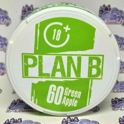 Жевательная смесь (снюс) Plan B - Зеленое яблоко - 60мг/г. купить