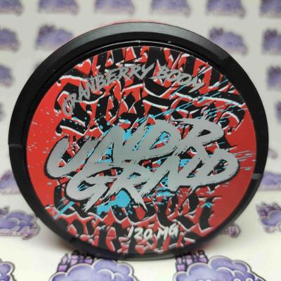 Жевательная смесь (снюс) Undr Grand - Клюква - 120мг/г. купить