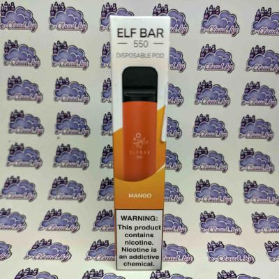 Одноразовая электронная сигарета Elf Bar - Манго - 50мг/мл. купить