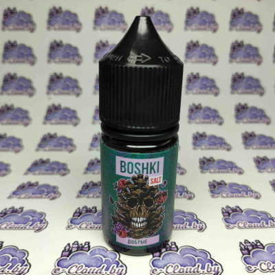 Жидкость для электронных парогенераторов Boshki Salt - Добрые 30мл. - 45мг/мл. купить
